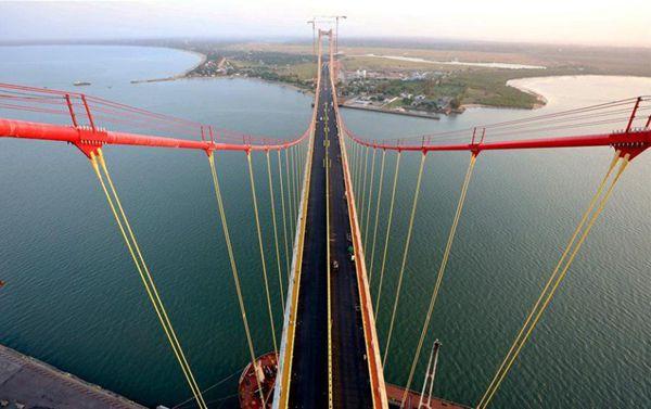 外媒:中国协助建成马普托-卡滕贝大年夜桥 被誉为南部非洲最巨大年夜工程