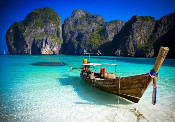 泰国风光矢量图片