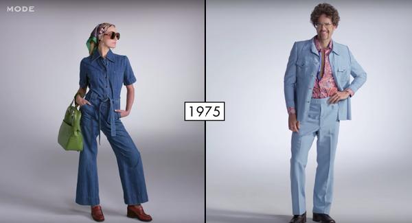 男士黄色牛仔裤_坐上时光机!看美国人衣着时尚的百年变迁 - 中文国际 - 中国日报网