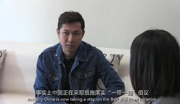 """【""""一带一路""""国家记者看中国】缅甸记者:这一倡议旨在造福世界"""