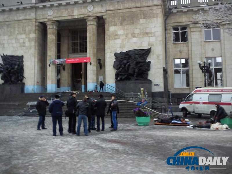 伏尔加格勒/12月29日,俄罗斯火车站发生恐怖袭击后,