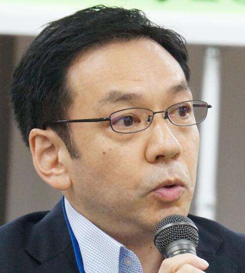 日本 矢崎/日本中国友好协会事务局局长矢崎光晴。(图片来源:矢崎光晴)